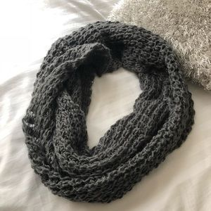 Accessories - Charcoal gray infinity scarf